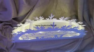 Schwibbogen mit LED Beleuchtung- innenleben